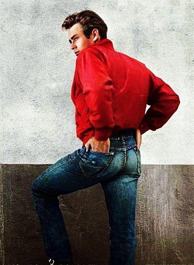 """5a8cc818ac Estrellas como James Dean en """"Rebelde sin causa"""" de 1955 contribuyó a  popularizar los jeans (Lee 101 Z Riders)"""